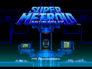 Screenshot Thumbnail / Media File 1 for Super Metroid (Europe) (En,Fr,De) [Graphic Hack by Auximines v0.99b] (~Super Metroid - Justin Bailey)